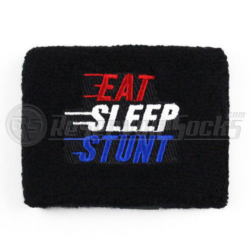Eat Sleep Stunt Brake Reservoir Socks