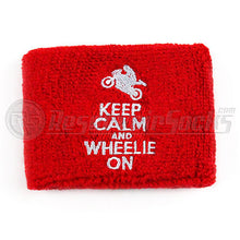 Keep Calm And Wheelie On Brake Reservoir Socks
