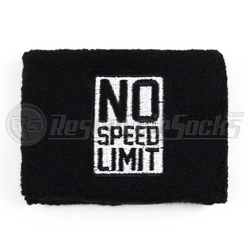 No Speed Limit Black Brake Reservoir Socks