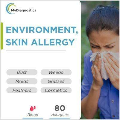 Allergy Respiratory Skin & Environment - Blood Test at Home