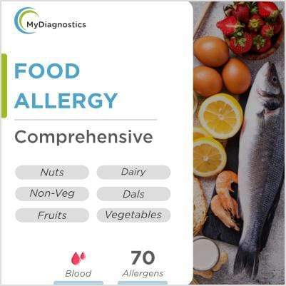 Allergy (Common Food Allergens) - Veg & Non-Veg - MyDiagnostics