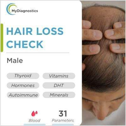 Hair Loss Check Comprehensive - Male - MyDiagnostics