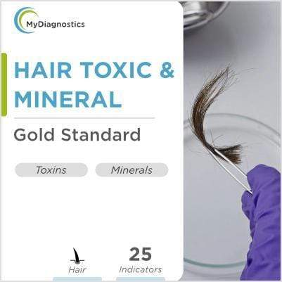 Hair Mineral & Toxic Test - MyDiagnostics