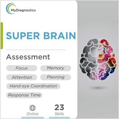 Super Brain : Brain Health & Fitness Assessment