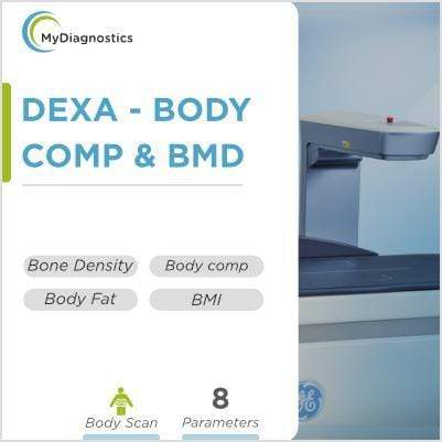 DEXA- Body Comp/Bone Mineral Density (BMD) - Full body - MyDiagnostics