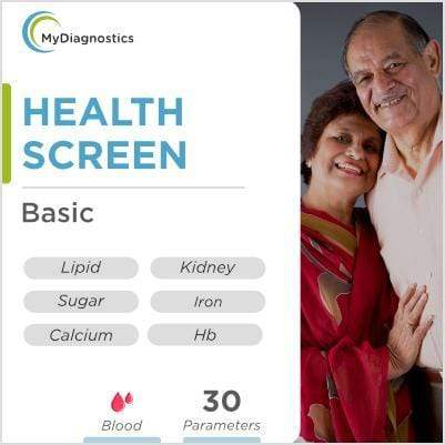 Health Screen - Basic - MyDiagnostics