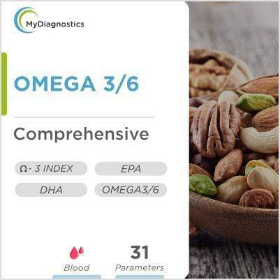 Omega 3 and Omega 6: Full Fatty Acids - MyDiagnostics