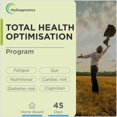 45-Days Personalised Health Optimisation Program - MyDiagnostics
