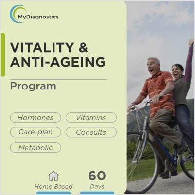 60-Days Vitality & Anti-Ageing Program - MyDiagnostics