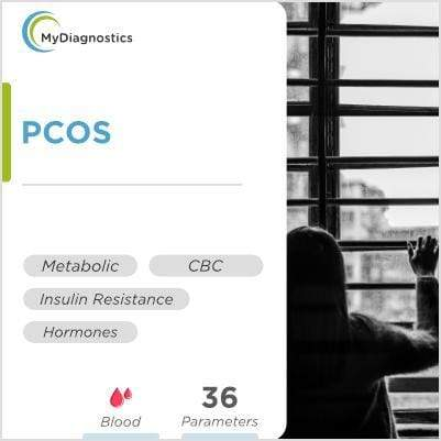 PCOS Blood Test at Home - Polycystic Ovarian Syndrome Diagnosis