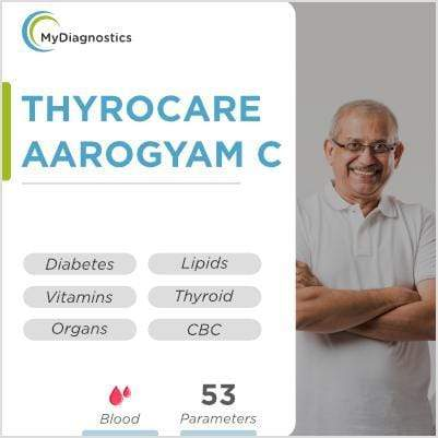 Thyrocare Aarogyam C -  Advanced Health Checkup Packages