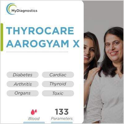 Thyrocare Aarogyam X Profile Test