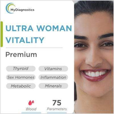 Ultra Woman- Vitality, Fertility & Ageing - MyDiagnostics