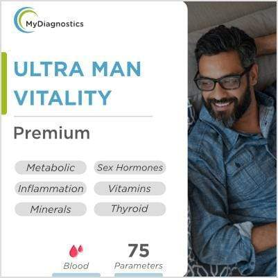 Ultra Man - Vitality, Sex Drive & Ageing - MyDiagnostics