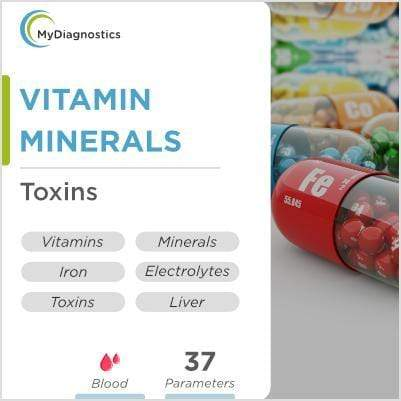 Vitamin, Mineral, Liver function & Toxins