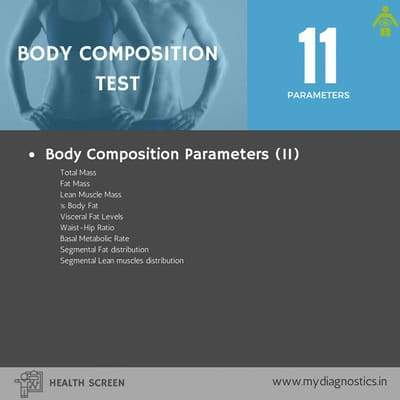 Body Composition Test (Inbody) - MyDiagnostics