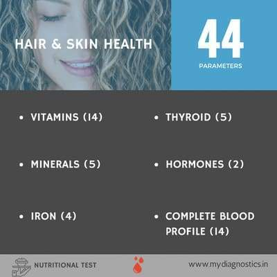 Hair Loss Check - Comprehensive - MyDiagnostics