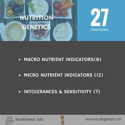 Nutrition Genetics - MyDiagnostics