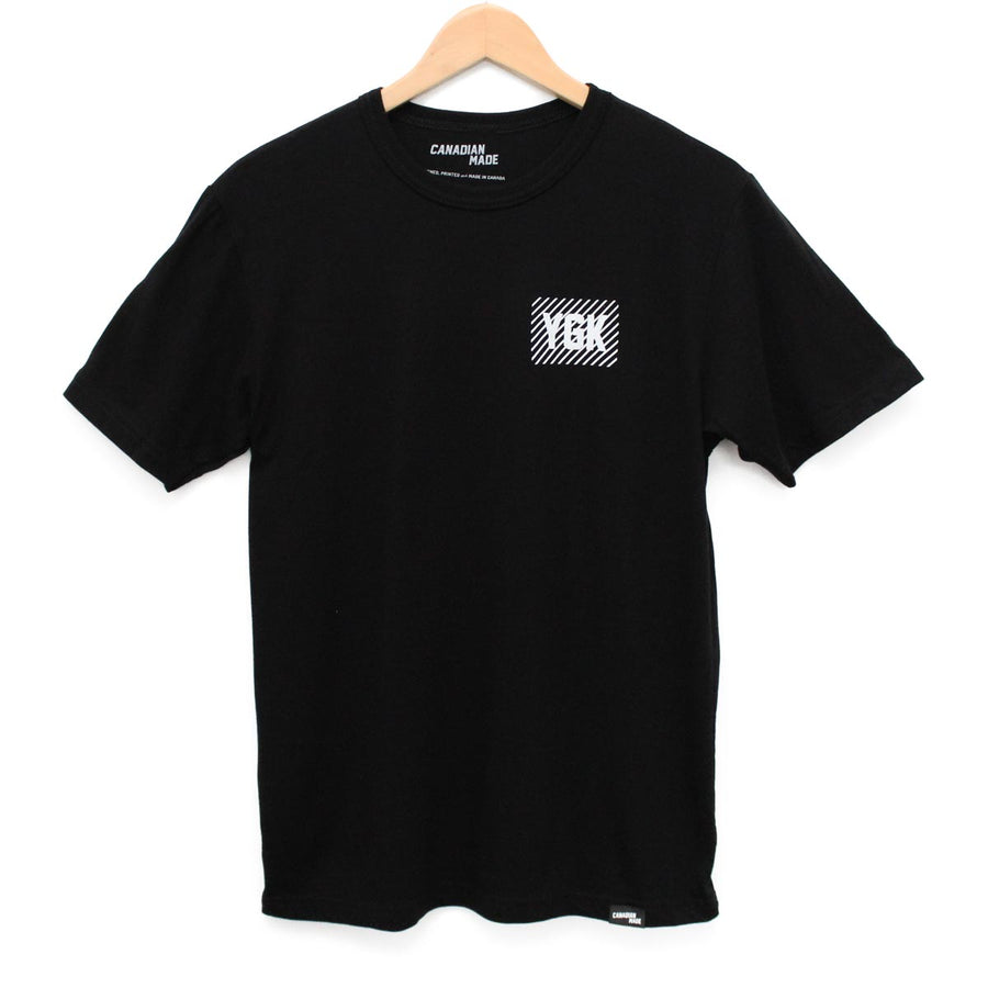 YGK Kingston Airport Code Bamboo T-Shirt - Black