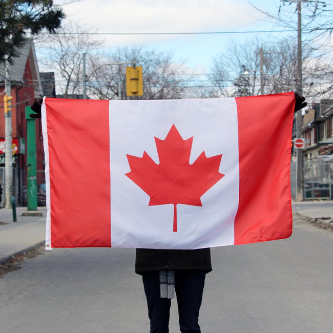 Canadian Maple Leaf 3 x 5 ft. Flag