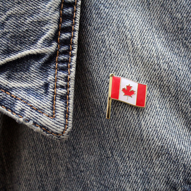 Canadian Flag Enamel Pin