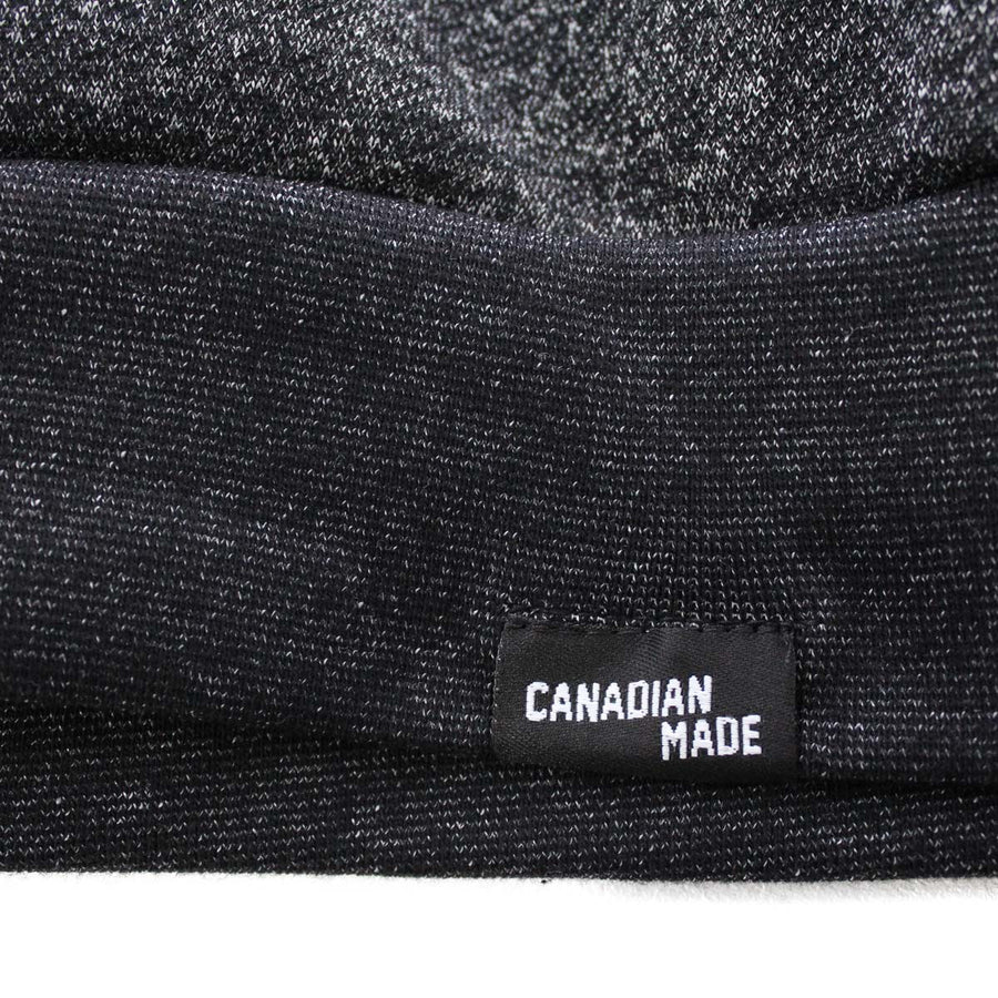 7e0203666890 Canadian Made for the True North Marled Cotton Sweatshirt - Black ...