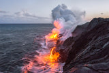 Kilauea Volcano Lava Flow - The Big Island Hawaii