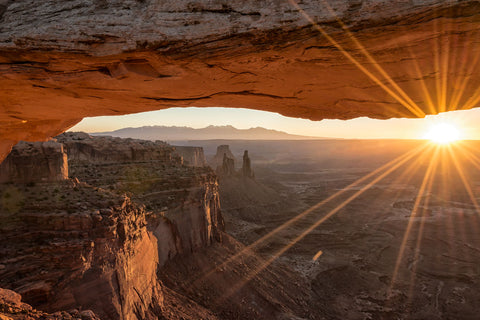 Mesa Arch Sunrise 4 Canyonlands National Park Moab Utah brian harig photography
