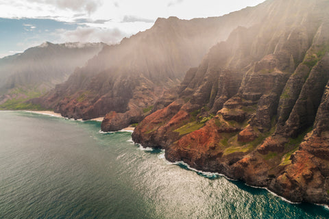 Na Pali Coast 4 Kauai Hawaii Seascape photography