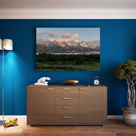 Dawn At Grand Teton National Park - Jackson Wyoming Fine Art Print