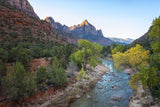The Watchman At Sunrise - Zion National Park - Utah Fine Art Photography