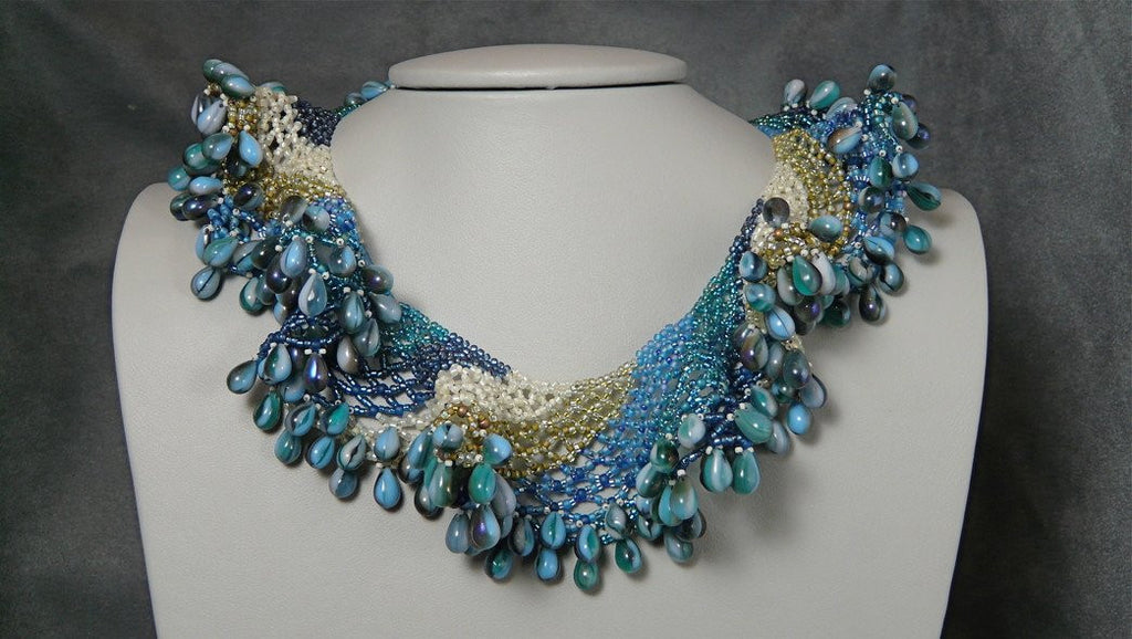 Ocean Wave Choker Necklace