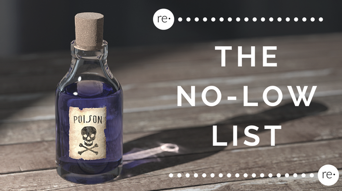 The No-Low List: Unhealthy Chemicals in Personal Care Products