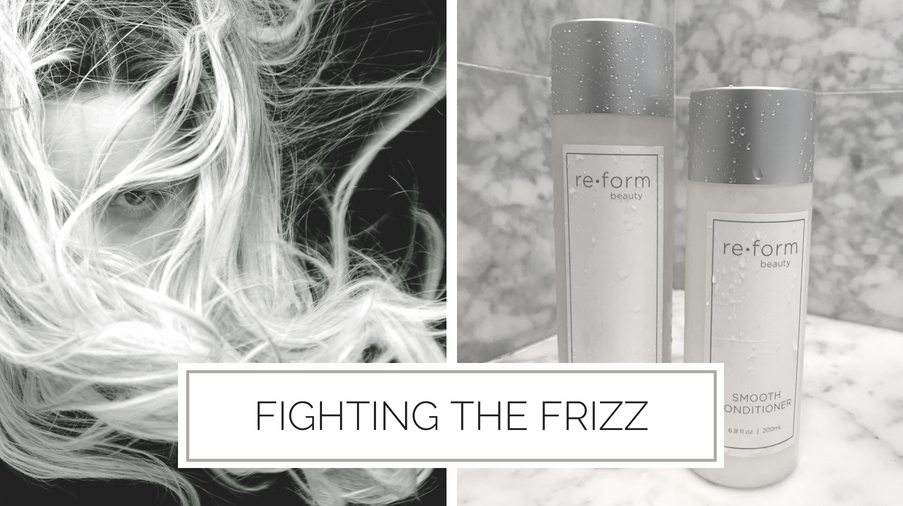 clean non-toxic frizz hair treatment