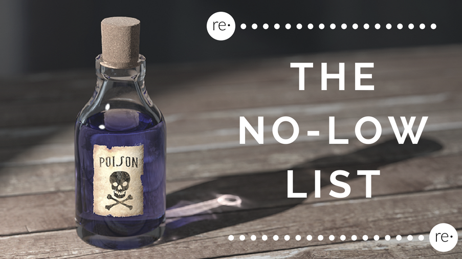 Reform Beauty Blog - The No-Low List