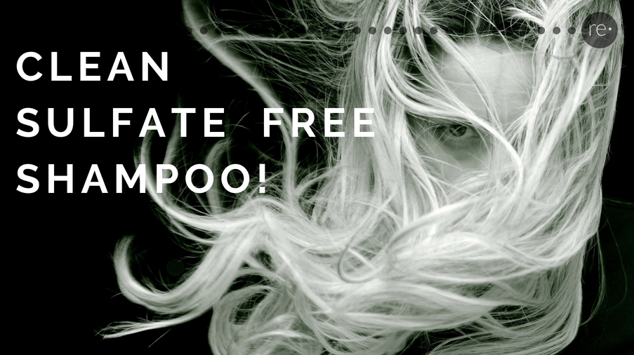 clean sulfate free shampoo