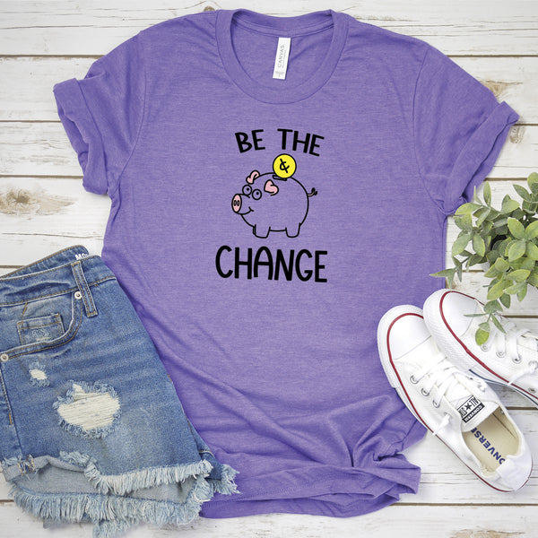 Be the Change Piggy Bank