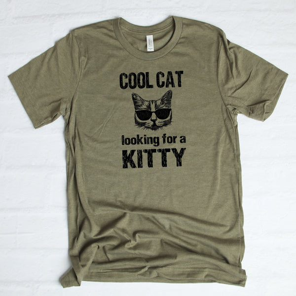 Cool Cat Looking for a Kitty