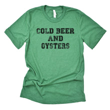 Cold Beer and Oysters