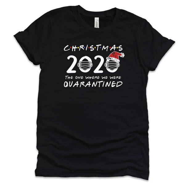 Friends Christmas 2020 Quarantine