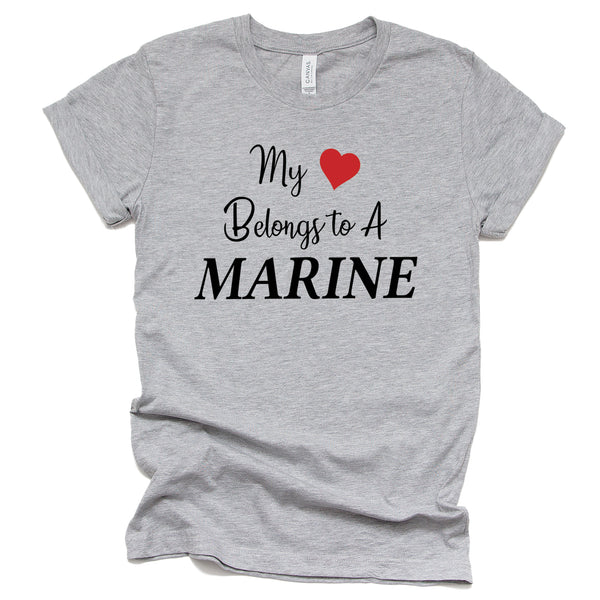 My Heart Belongs To A Marine