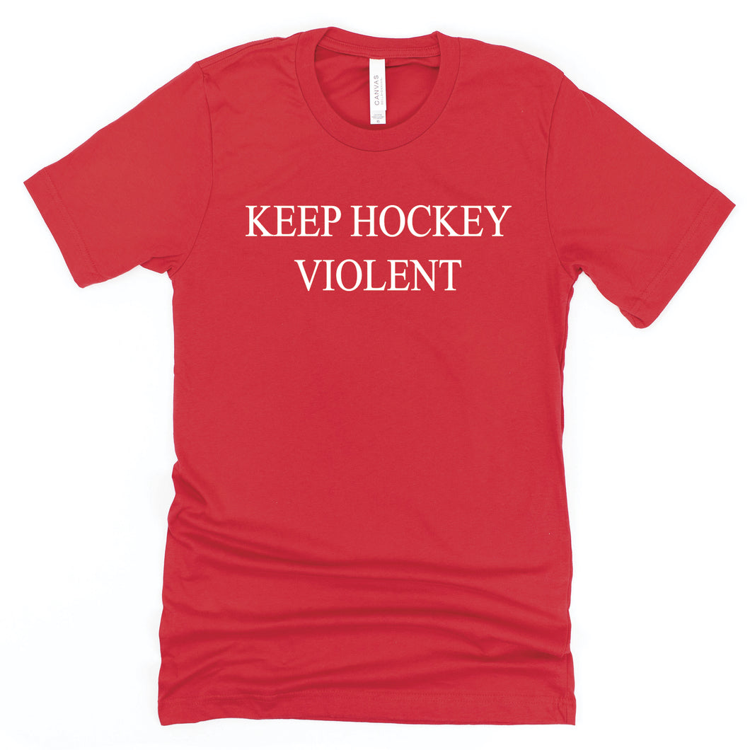 Keep Hockey Violent