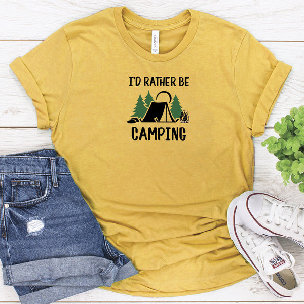 I'd Rather Be Camping