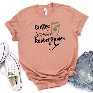 Coffee Scrubs & Rubber Gloves