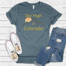 Sky High in Colorado