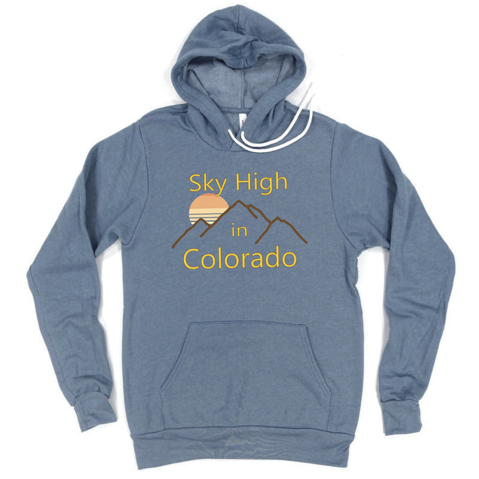 Sky High In Colorado - Hoodie