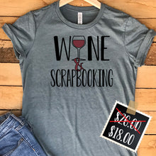 Wine and Scrapbooking