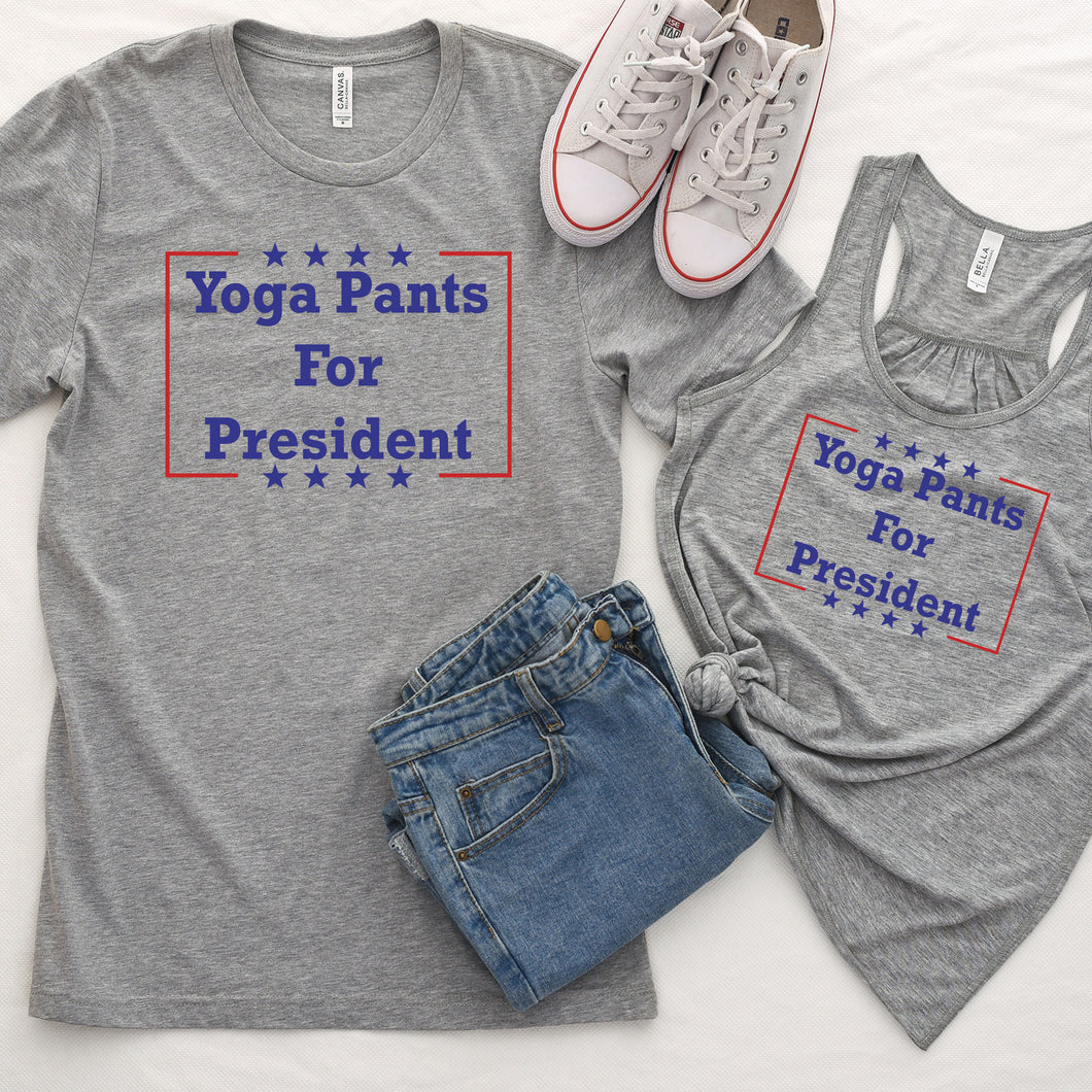 Yoga Pants for President