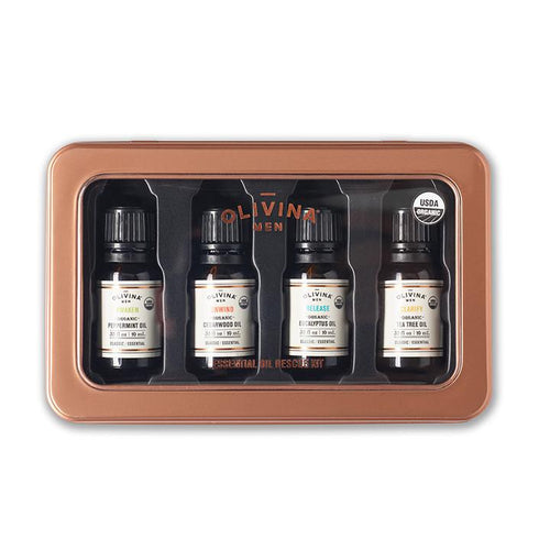 USDA Organic Essential Oil Rescue Kit