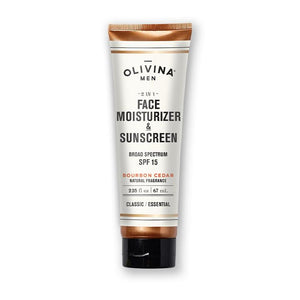 2-IN-1 FACE MOISTURIZER & SUNSCREEN